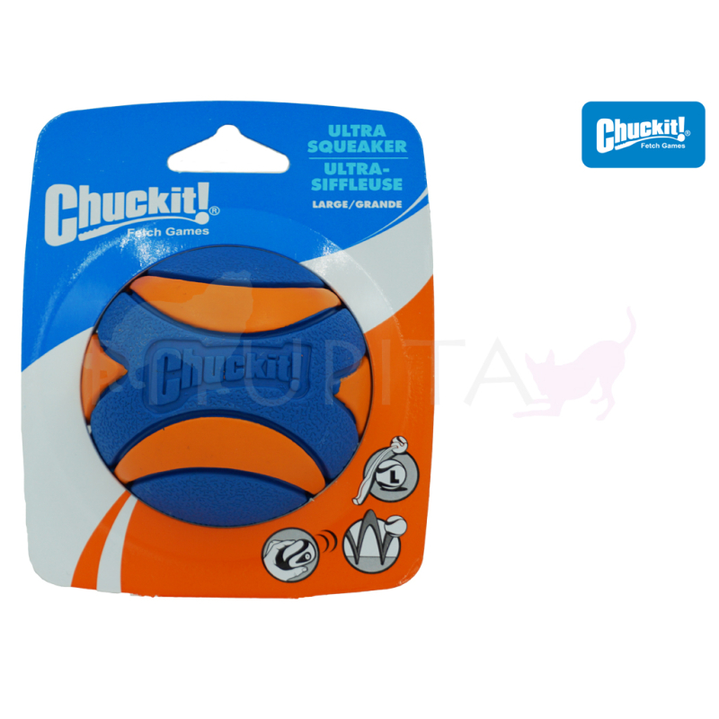 Chuckit Ultra Squeaker Ball M-1er Pack