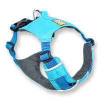 Ruffwear Hi & Light Harness Blue Atoll blau M