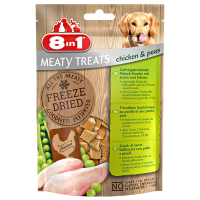8in1 Mealty Treats Chicken Huhn u. Erbsen 50g