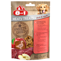 8in1 Mealty Treats Duck Ente u. Apfel 50g