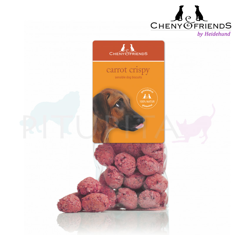Cheny & Friends Biscuits Pralinen carrot crispy 125g