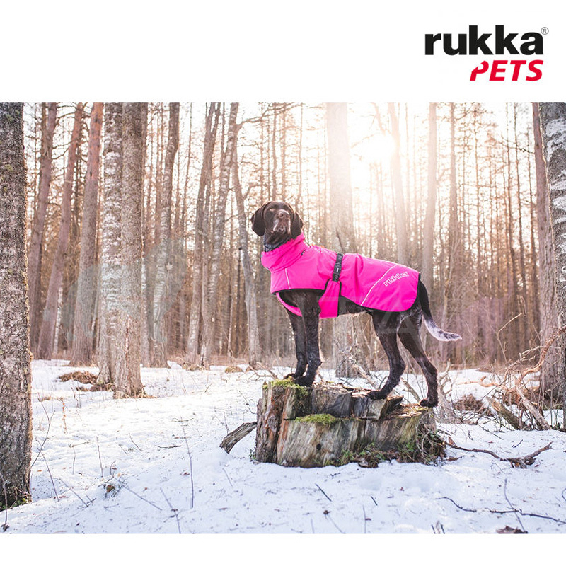 Rukka Pets Wintermantel Warmup black schwarz 50