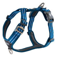 DOG Copenhagen Walk Harness AIR Geschirr schwarz blau...