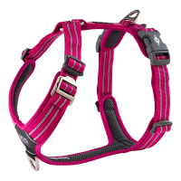 DOG Copenhagen Walk Harness AIR Geschirr schwarz pink...