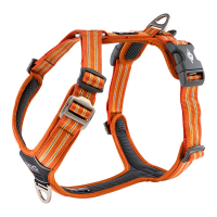 DOG Copenhagen Walk Harness AIR Geschirr orange sun V2