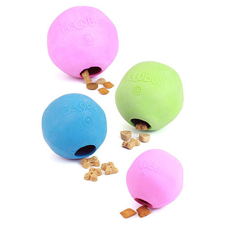 BecoPets Snackspielzeug Beco Ball  pink M